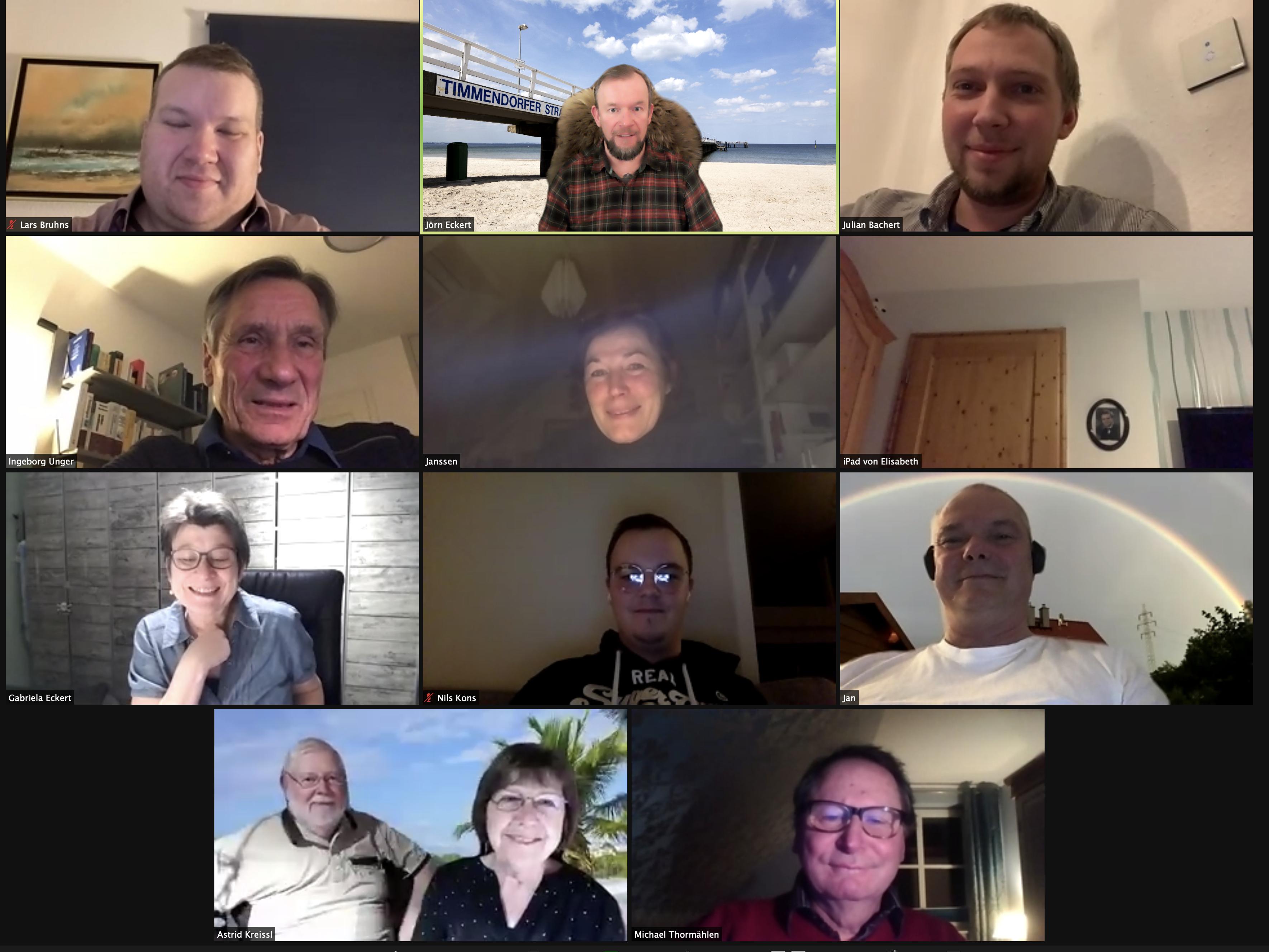 Fraktionssitzung online